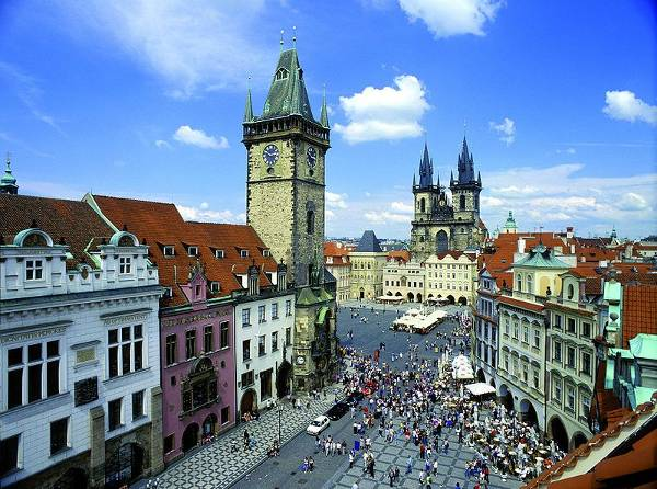 Praga, Ciudad Vieja