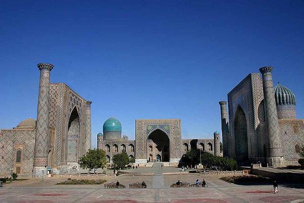 Plaza de Registán, Samarcanda, Uzbekistán
