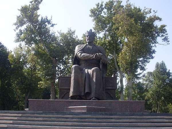 Estatua de Tamerlán, Samarcanda, Uzbekistán