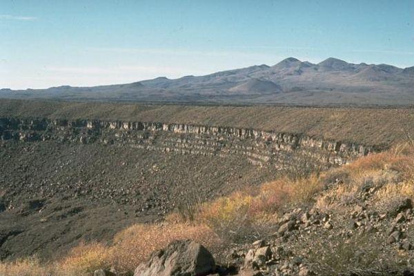 Volcán de El Pinacate y desierto de Altar, México