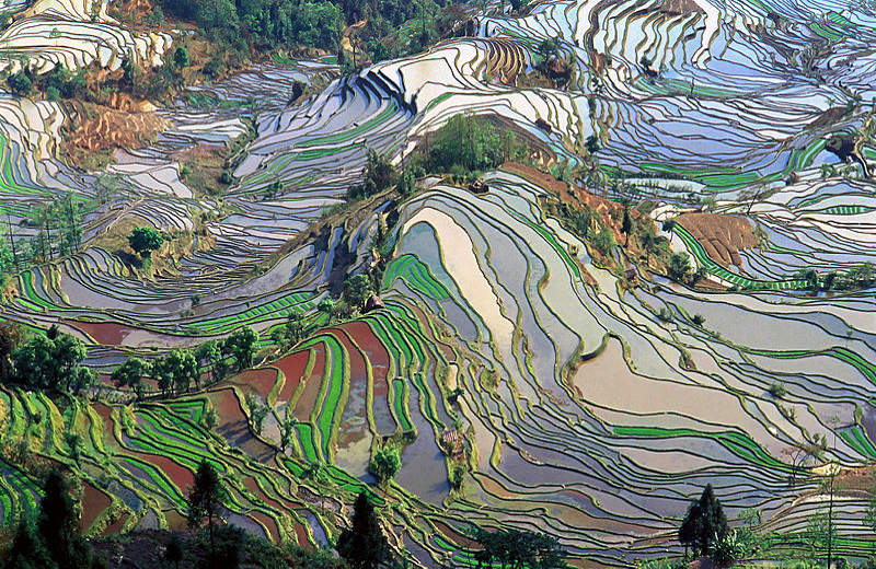 Honghe Hani, Yunnan, en China
