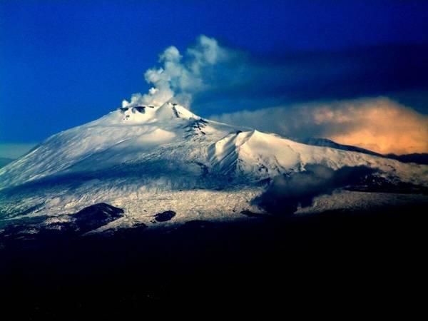 Monte Etna, Sicilia, Italia