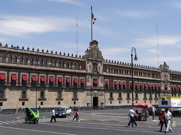 Palacio Nacional, Zócalo, Ciudad de México, México