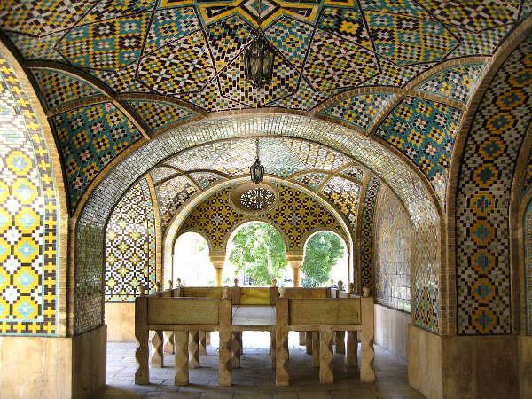 Palacio de Golestan, Teherán, Irán