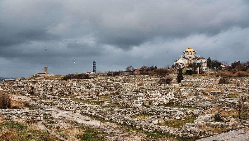 Quersoneso, Crimea, en Ucrania