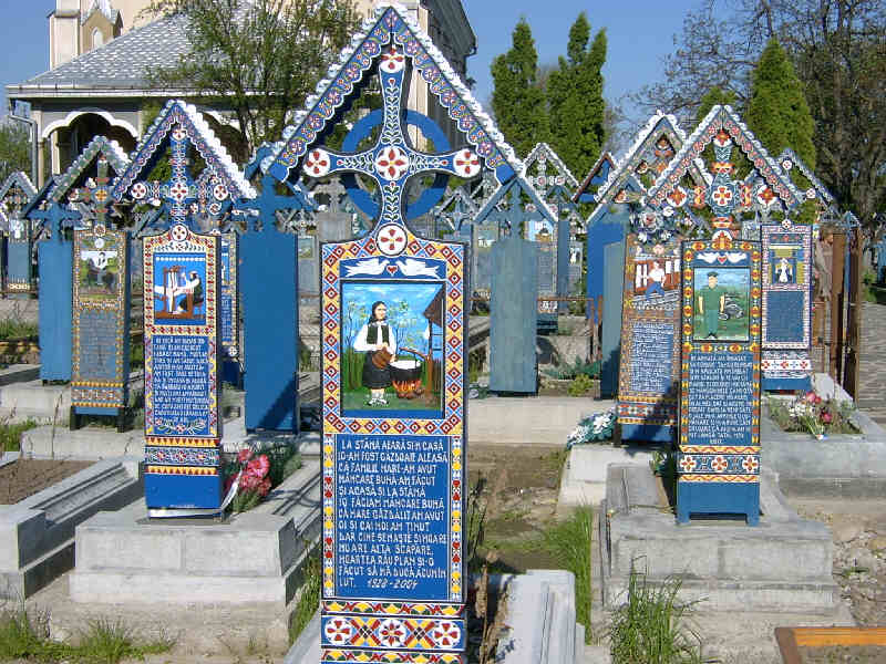 Cementerio de Sapanta, Rumanía