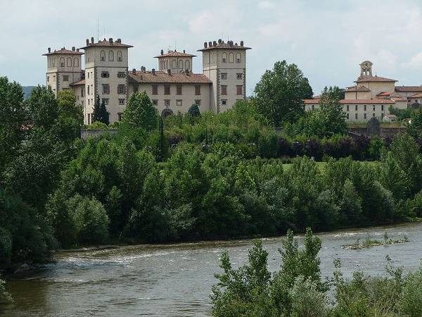 Villa Ambrogiana, villas Medici, Toscana, Italia