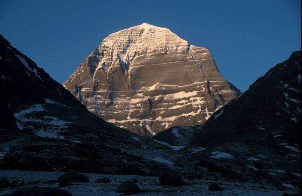 Monte Kailash, en India