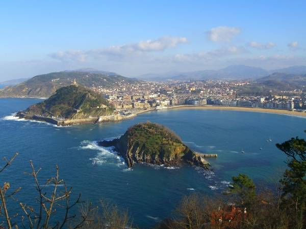Playa de la Concha, Donostia, San Sebastián