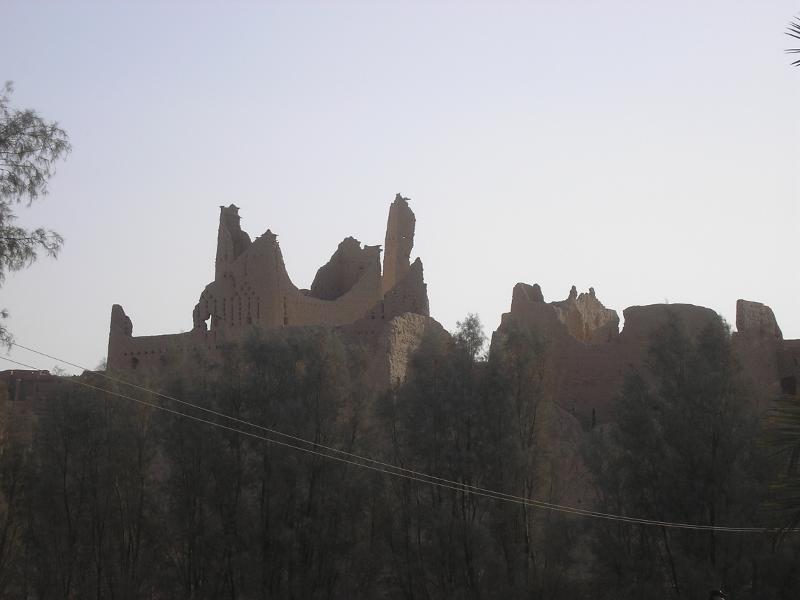 Más ruinas de Diriyah, Riad, Arabia Saudí