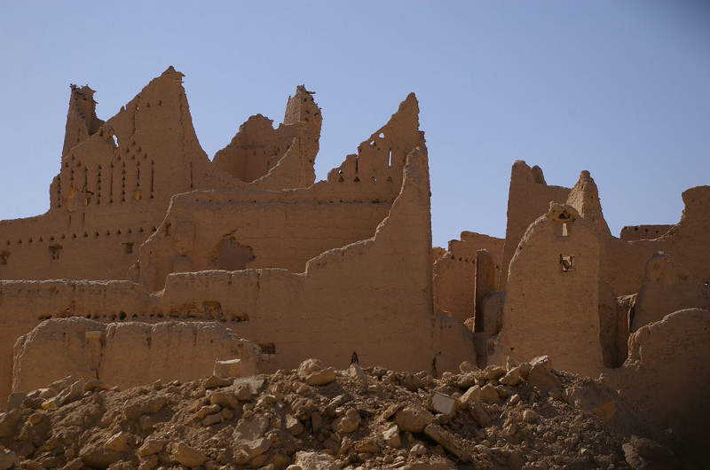 Ruinas de Diriyah, Riad, Arabia Saudí