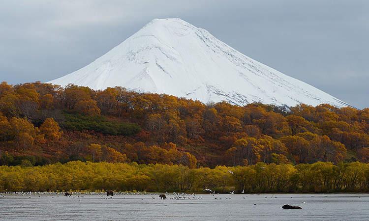 Volcán Ilyinsky, Kamchatka