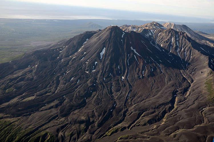 Volcán Kikhpinych, Kamchatka