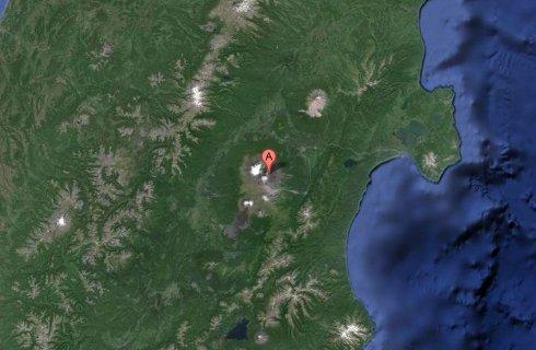 Kliuchevskoi, ubicación Volcanes de Kamchatka