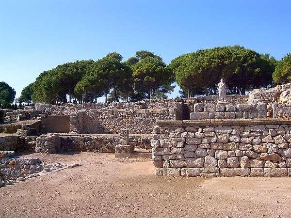 Ciudad griega Ampurias, Ampurias, España