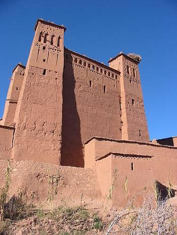 Kasbah en Ait Ben Hadu, Marruecos