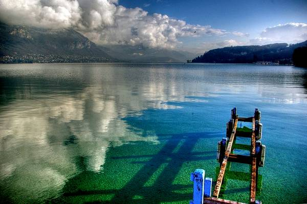 Lago Annecy, Annecy, Francia