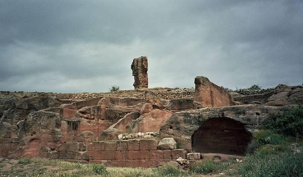 Ruinas romanas de Tiermes, Termancia, Soria