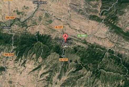 Mapa de Sos del Rey Católico, Google maps