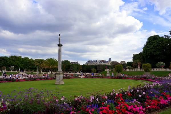 Jardines de Luxemburgo, París, Francia