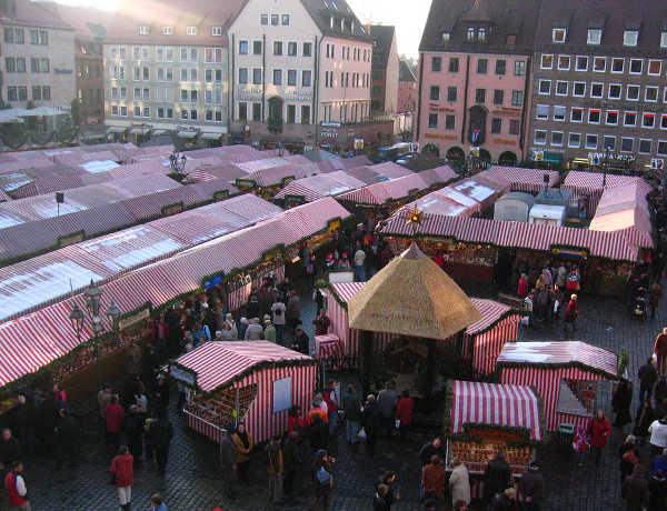 Mercadillo navideño de Nüremberg, Alemania