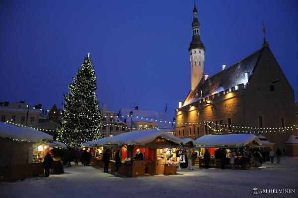Mercado de Navidad de Tallin, Estonia