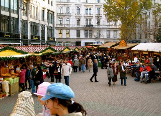 Mercadillo de Navidad de Budapest, Hungría