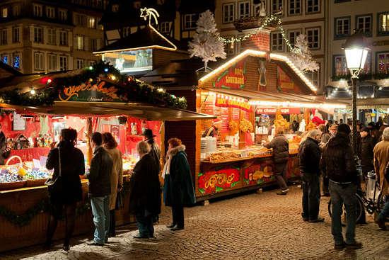 Mercado de Navidad de Estrasburgo, Francia