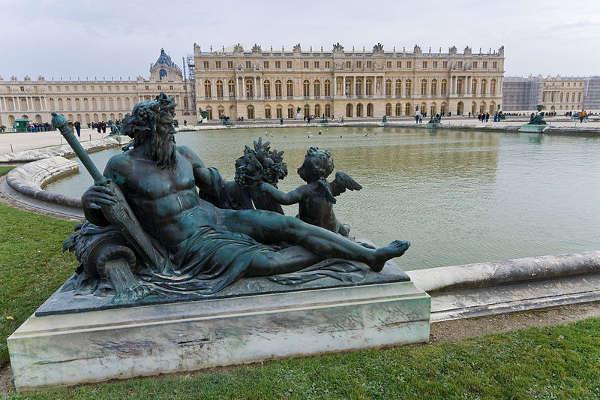 Palacio y jardines, Versalles, París