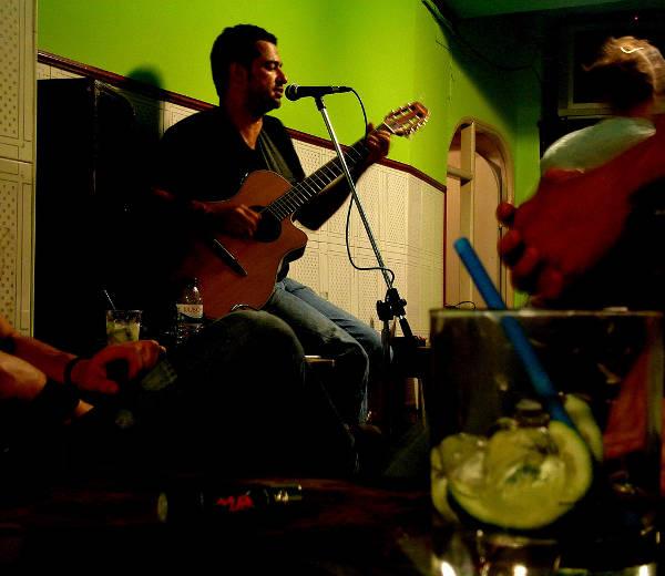 Nightlife en Bairro Alto, en Lisboa, Portugal