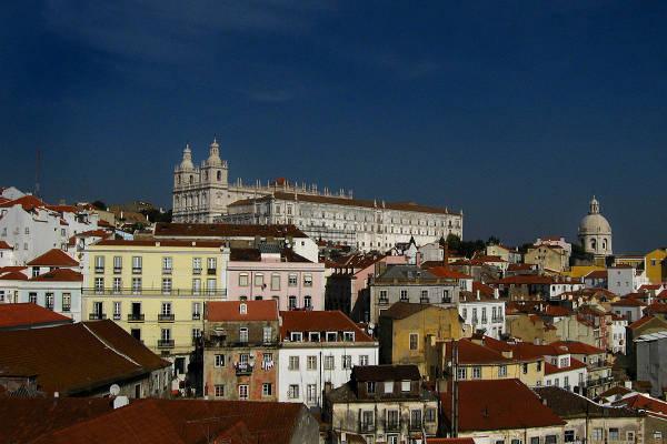 Bairro de Alfama, Lisboa, Portugal