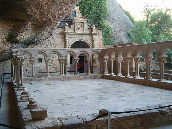 Claustro del Monasterio de San Juan de la Peña, Aragón