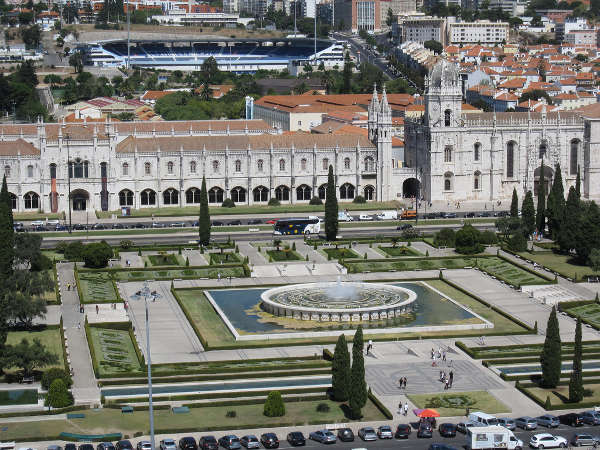 Monasterio de los Jerónimos, en Lisboa, Portugal