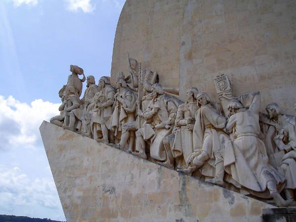 Monumento a los Descubridores, en Lisboa, Portugal
