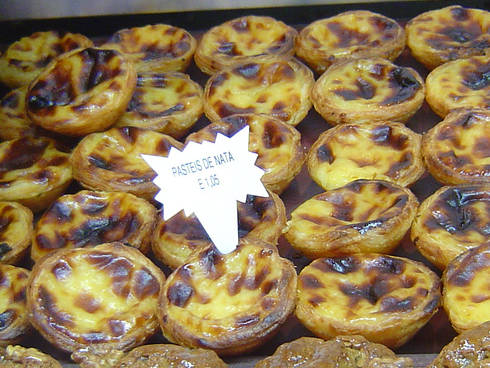 Los Pasteis de Nata, Belem, en Lisboa