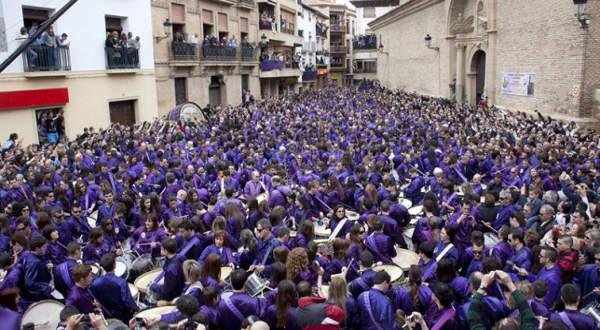 Rompida de tambores de Calanda, Aragón