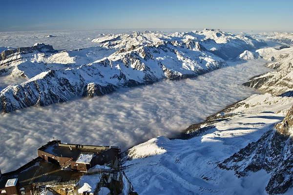 Resort de esquí de Chamonix (Francia)