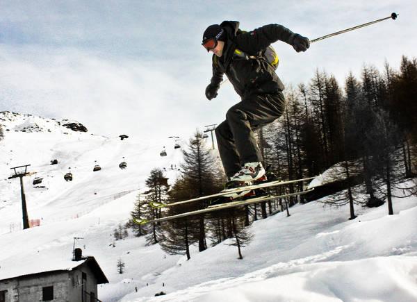 Resort de esquí de Madesimo (Italia)