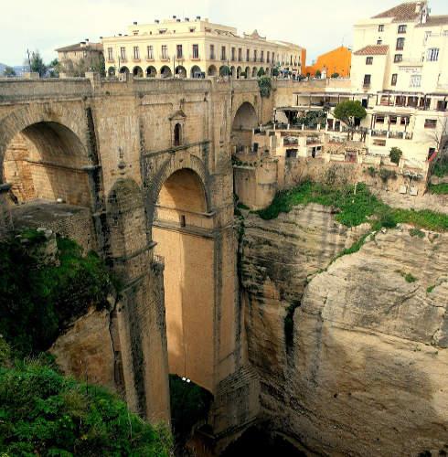 Puente Nuevo, en Ronda, Andalucía