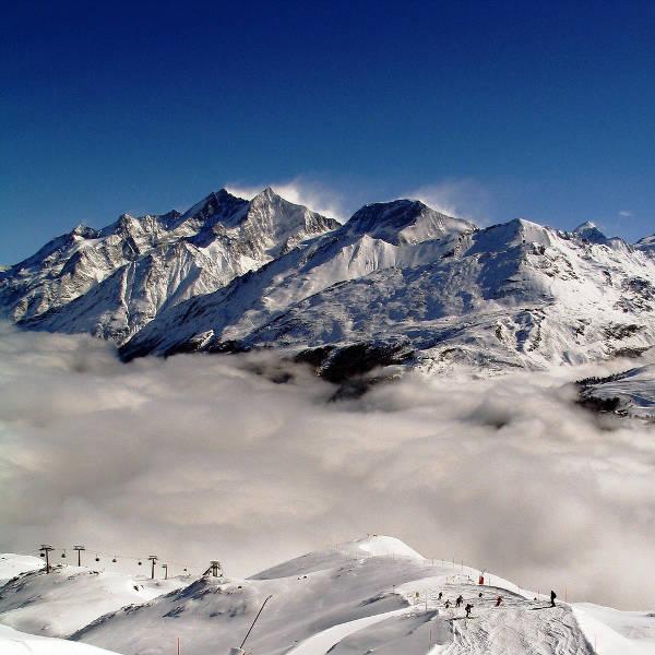 Resort de esquí de Zermatt (Suiza)
