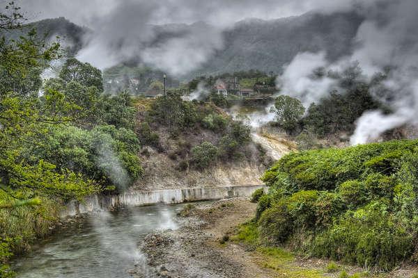 Termales de Furnas, San Miguel, Azores