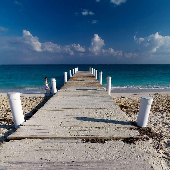 Playas de ensueño en islas Turcas y Caicos