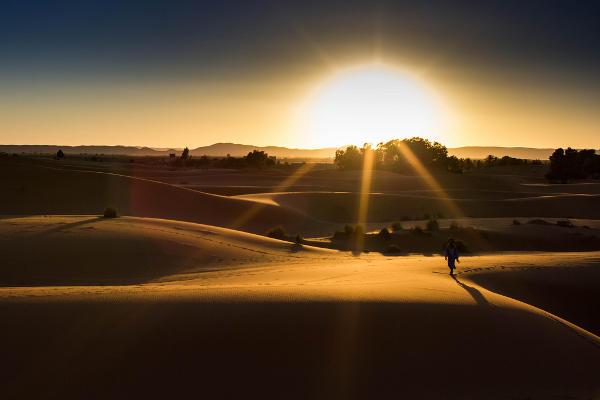 Desierto Merzouga, Ruta mil kasbahs, Marruecos