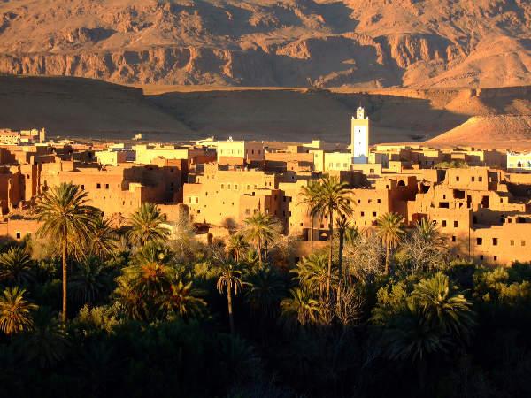 Kasbah de Tinergir, Ruta mil Kasbahs, Marruecos