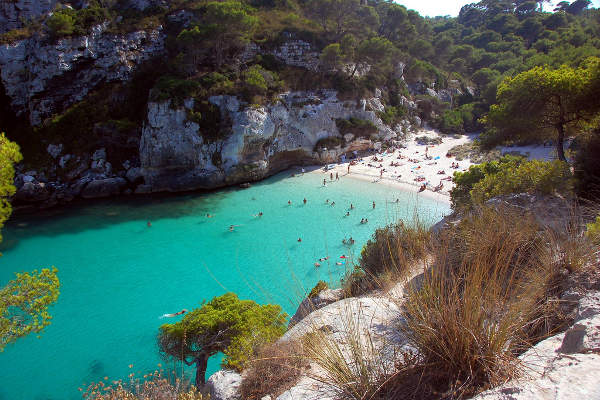 Playa-cala de Es Banyils, Menorca