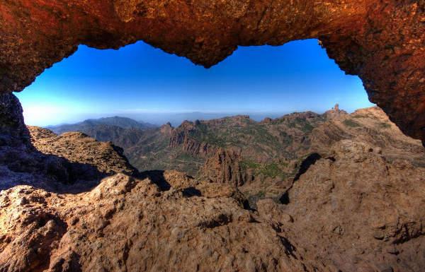 Ruta de la Ventana del Nublo, la Agujereada, Gran Canaria, Destinia