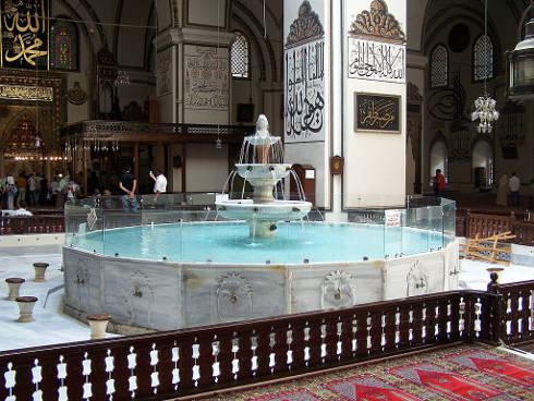 Mezquita de Bursa, Turquía, Patrimonio de la Humanidad