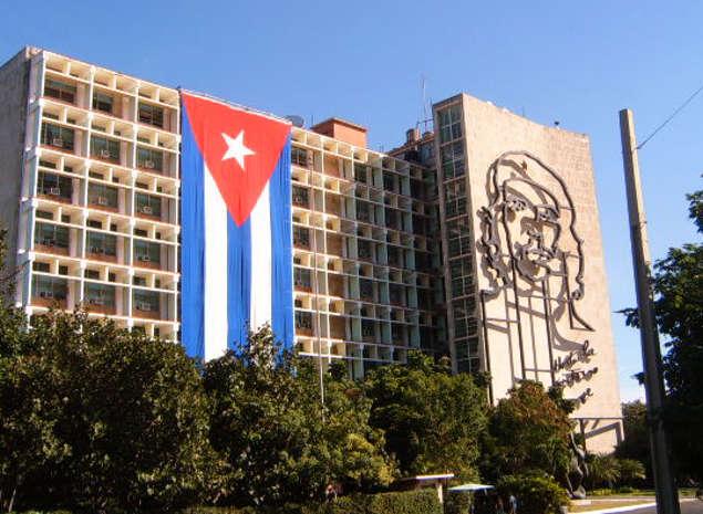 Mural Che Guevara en La Habana, Cuba