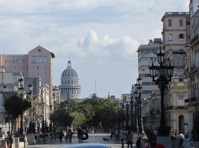 Paseo del Prado de La Habana, Cuba