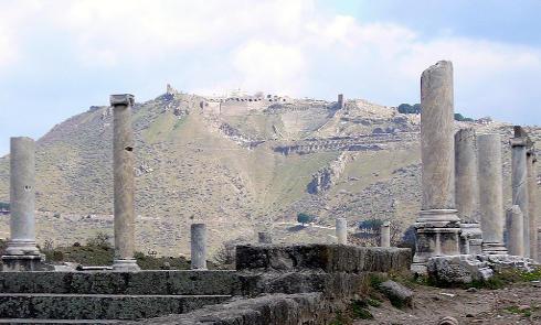 Acrópolis de Pérgamo, Turquía, Patrimonio de la Humanidad